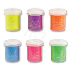 Faber Castell - Faber Castell Neon Guaj Boya Takımı 15ml 6 Renk 5170160403 (1)
