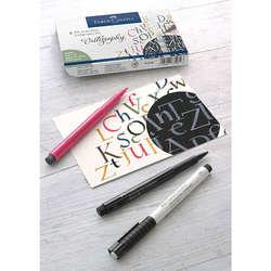 Faber Castell - Faber Castell Pitt Artist Pens Calligraphy Seti 8li 167508 (1)