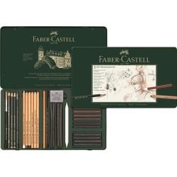 Faber Castell - Faber Castell Pitt Monochrome Set