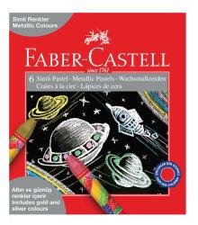Faber Castell - Faber Castell Simli Pastel Boya 6 Renk