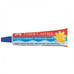 Faber Castell - Faber Castell Su Bazlı Sıvı Yapıştırıcı 19g