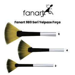 Fanart - Fanart 980 Seri Yelpaze Fırça