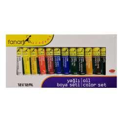 Fanart - Fanart Academy Yağlı Boya Seti 12x12ml