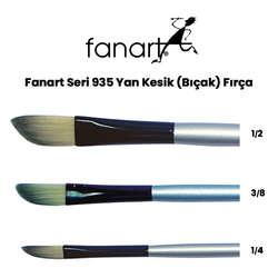 Fanart - Fanart Seri 935 Yan Kesik (Bıçak) Fırça