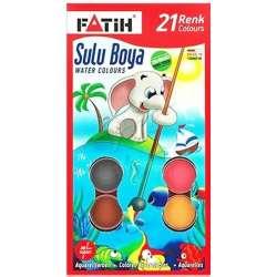 Fatih - Fatih Sulu Boya 30mm 21 Renk K-21