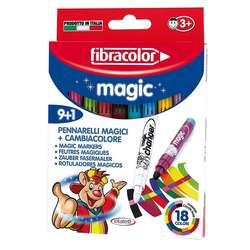 Fibracolor - Fibracolor Magic Pen 9+1