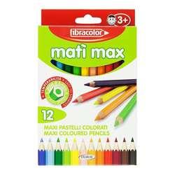 Fibracolor - Fibracolor Mati Max Kuru Boya Takımı 12 Renk