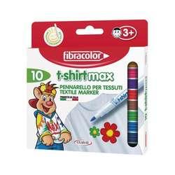 Fibracolor - Fibracolor T-shirtmax Tekstil Kalemi Set 10lu