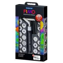 Fimo - Fimo Professional Clay Extruder Set 20li Kil Makinesi 870017