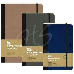 Flexbook - Flexbook Adventure Notebook Esnek Kapaklı Not Defteri Çizgili 192 Sayfa 85g