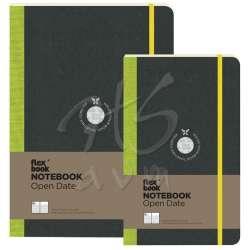 Flexbook - Flexbook Notebook Open Date Esnek Kapaklı Not Defteri Tarihli 192 Sayfa 85g