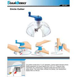 FoamWerks - FoamWerks Strafor Kesme Aleti - Foamboard Circle Cutter - WA 8001 (1)