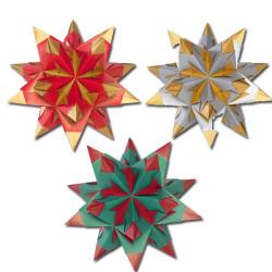 Folia - Folia Bascetta Star Kit Çift Yüzeyli 20x20cm