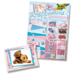 Folia - Folia Scrapbooking Decoration Set Baby
