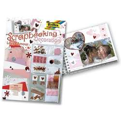 Folia - Folia Scrapbooking Decoration Set Love