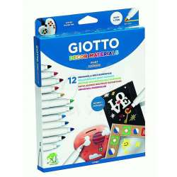 Giotto - Giotto Decor Materials Keçeli Kalem 12li 453400