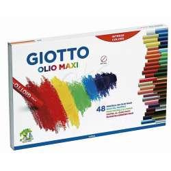 Giotto - Giotto Olio Maxi - Yağlı Pastel (Silindir) 48 Renk – 293200