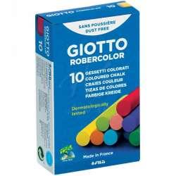 Giotto - Giotto Robercolor Tozsuz Tebeşir Karışık Renkli 10lu Paket 538900