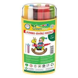 GreenMax - GreenMax Jumbo Sihirli Keçeli 9+1 Renk