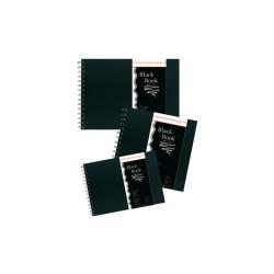 Hahnemühle - Hahnemühle Black Book 250 g 30 Yaprak