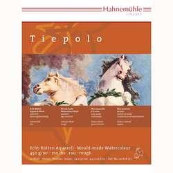 Hahnemühle - Hahnemühle Tiepolo Sulu Boya Blok 24x32cm 450g 10 Yaprak