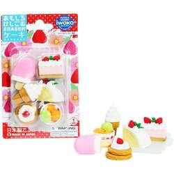 Anka Art - Iwako Puzzle Silgi 6lı Cake - Ice Cream