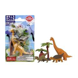 Anka Art - Iwako Puzzle Silgi 6lı Dinosaur Set 2
