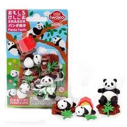 Anka Art - Iwako Puzzle Silgi 6lı Panda