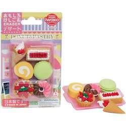 Anka Art - Iwako Puzzle Silgi 6lı Sweets