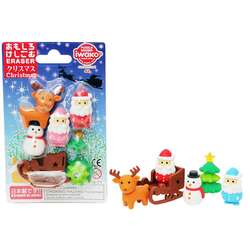 Anka Art - Iwako Puzzle Silgi 7li Christmas Set