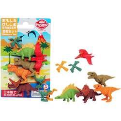 Anka Art - Iwako Puzzle Silgi 7li Dinosaur Set 1