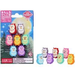 Anka Art - Iwako Puzzle Silgi 7li Lucky Owl