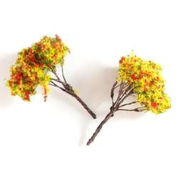 Jordania - Jordania Ağaç Maketi Metal 5cm 1/200 2li 50E (1)
