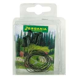Jordania - Jordania Bahçe Zemin Lambası Elektrikli Yeşil 6V 1/100 5li TML14105