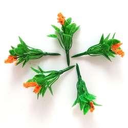 Jordania - Jordania Çiçek Maketi Turuncu 2.5cm 5li FL3225T (1)