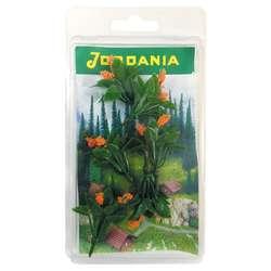 Jordania - Jordania Çiçek Maketi Turuncu 3.5cm 6lı FL3235T