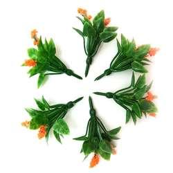 Jordania - Jordania Çiçek Maketi Turuncu 3.5cm 6lı FL3235T (1)