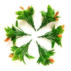 Jordania - Jordania Çiçek Maketi Turuncu 4.5cm 6lı FL3245T (1)