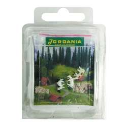 Jordania - Jordania İnek Maketi 1/200 3lü HO2200