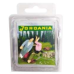 Jordania - Jordania İnsan Maketi Boyalı Oturan 1/50 4lü İBO1050