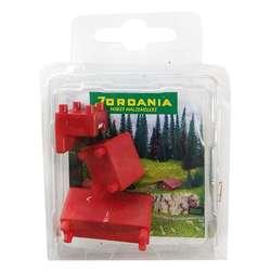 Jordania - Jordania Maket Koltuk Takımı Kırmızı 1/50 SF225051