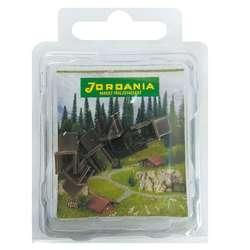 Jordania - Jordania Sandalye Maketi Kahve 1/50 6lı E3052
