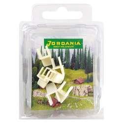 Jordania - Jordania Sandalye Maketi Krem 1/50 6lı E3051