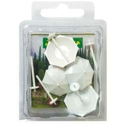 Jordania - Jordania Şemsiye Maketi Beyaz 1/100 5li MT100B