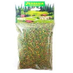 Jordania - Jordania Toz Çim Maketi 50g Çiçekli Yeşil 04102
