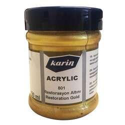 Karin - Karin Acrylic Restorasyon Altını 801 190ml