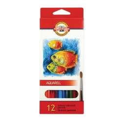 Koh-i-noor - Koh-i-Noor Aquarell Pencil Sulu Boya Kalemi Balık 12li 3716