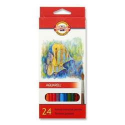 Koh-i-Noor - Koh-i-Noor Aquarell Pencil Sulu Boya Kalemi Balık 24lü 3718 (1)