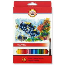Koh-i-Noor - Koh-i-Noor Aquarell Pencil Sulu Boya Kalemi Balık 36lı 3719 (1)
