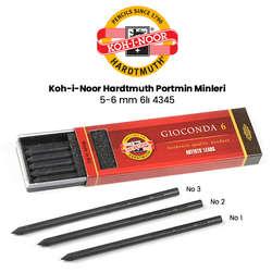 Koh-i-Noor - Koh-i-Noor Gioconda Portmin Uç 5-6 mm 6lı 4345